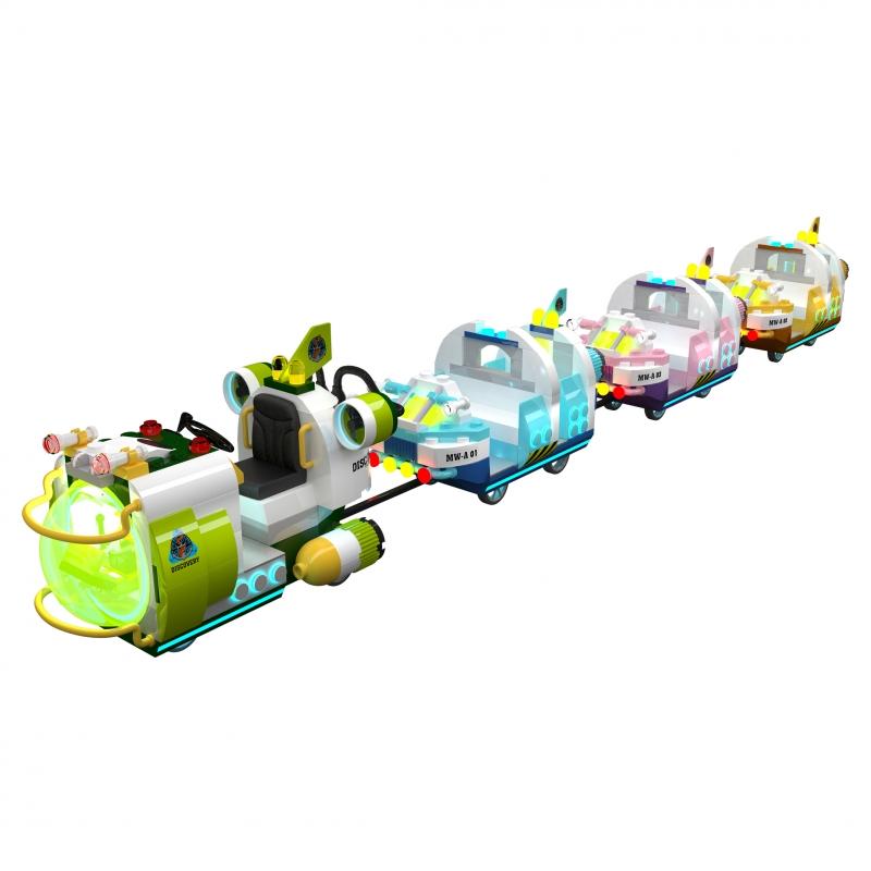 海洋探索号-无轨道火车